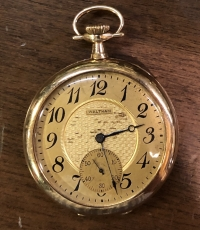 Gold Pocket Watch Elgin Not Working