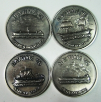 4 Silver medals 1978