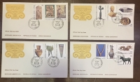 CYPRUS FDC ( set of 4 )1980
