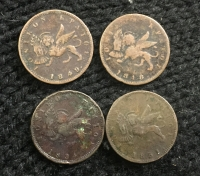 4  Different Coins Of Ionian Island