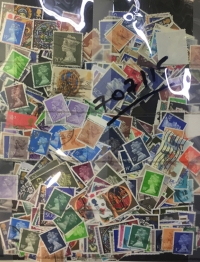 GR. BRITAIN  lot of used stamps