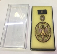 GERMANY Badge and pin