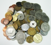 1/2 kilo of Greek coins VF/XF