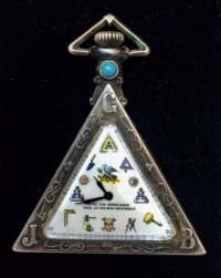 RARE Masonic Watch Silver