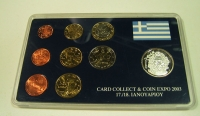 SET 2003 WITH SILVER MEDAL COIN EXPO