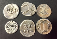 Collection of 6 TOKEN
