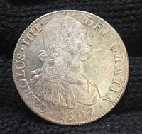 MEXICO 8 Real 1807 XF