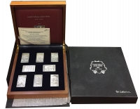 Post Collections 8 Silver Stamps Official