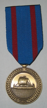 Navy Medal Boxed