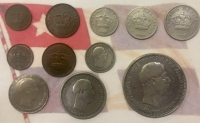 COMPLETE SET OF CRETA COINS