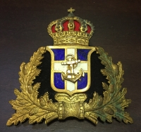 Hat badge of royal navy