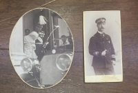 2 Rare Royal Photos King George a and Konstantinos