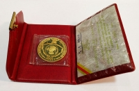 CAMEROUN 5000 Franks 1970 Gold Proof in original wallet