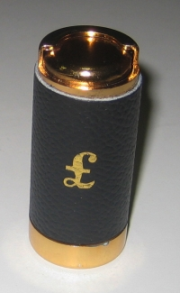 Tube for Pounds or Sovereigns