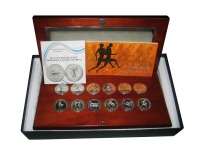 Collection of 12 Silver Medal of Olympic Games
