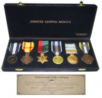 Collection of Greek Medals