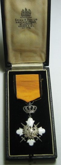 Silver Cross Order Of The Phoenix SPING BOXED