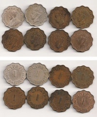 CYPRUS Collection with 8 different Piastre